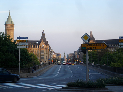 卢森堡自由大街的图片