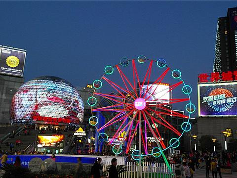 光谷商圈旅游景点图片