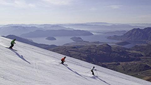 三锥山滑雪场