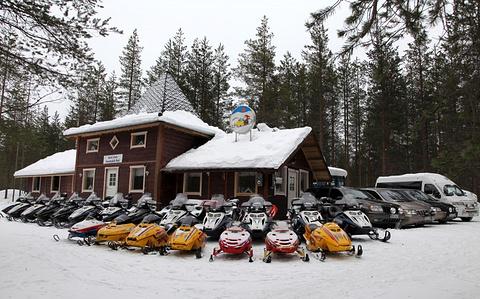 北极圈雪地车公园