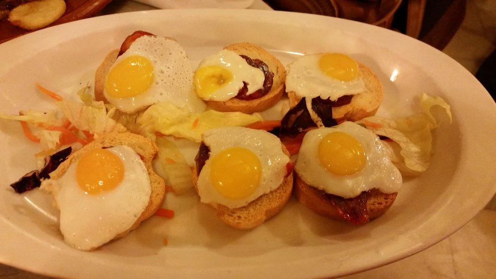 西班牙传统小吃tapas