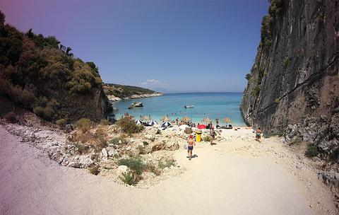 Xigia海滩---天然硫磺温泉