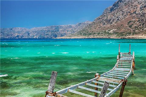 Balos沙滩和泻湖