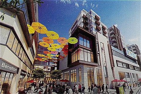 市西商业街的图片