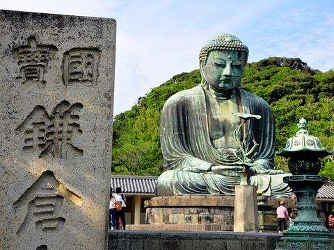 镰仓大佛旅游景点图片