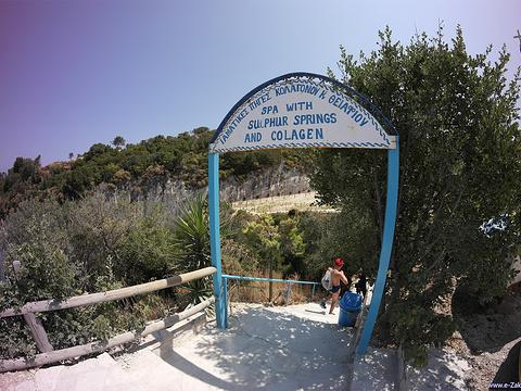 Xigia海滩---天然硫磺温泉旅游景点图片