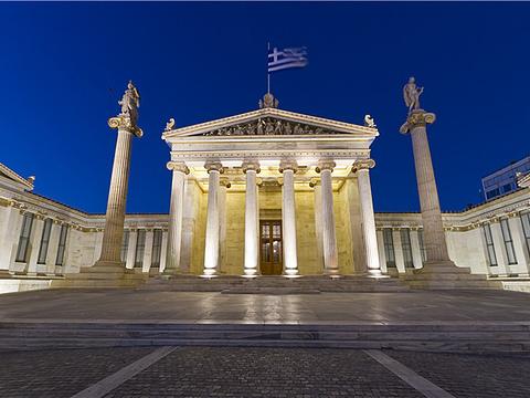 雅典科学院旅游景点图片