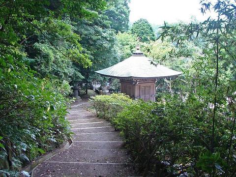 安国论寺旅游景点图片