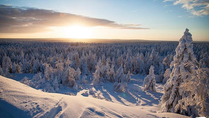 Ounasvaara滑雪中心旅游图片