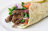 阿拉伯烤肉卷