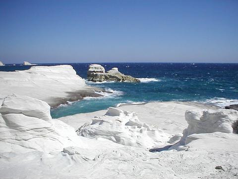 Sarakiniko海滩