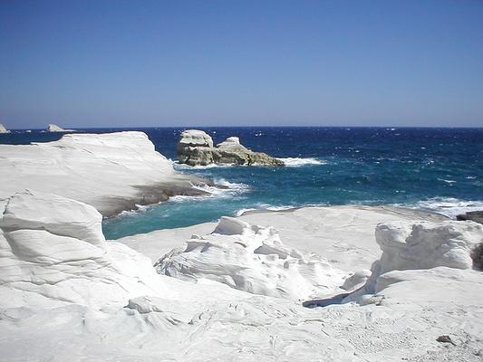 Sarakiniko海滩旅游图片