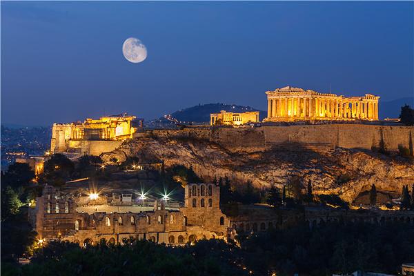 雅典卫城旅游图片