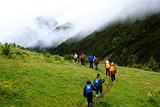 从七藏沟到九寨沟的徒步穿越