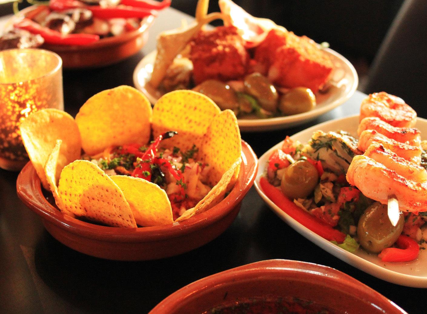 西班牙传统小食tapas