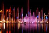 开阳湖音乐喷泉
