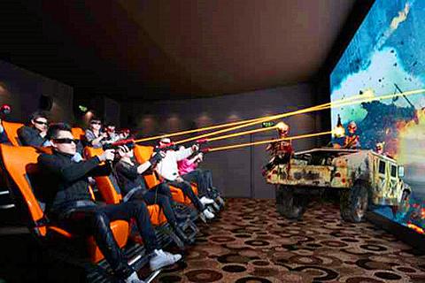 身临其境7D互动体验馆