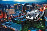 乘直升机夜游拉斯维加斯
