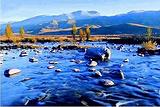 茹布查卡的温泉