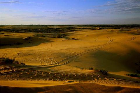 塔敏查干沙漠的图片