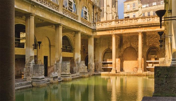 罗马浴场旅游图片