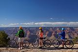 骑自行车游大峡谷