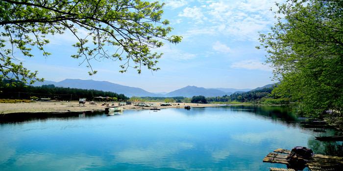 温州周边---楠溪江烧烤漂流一日游