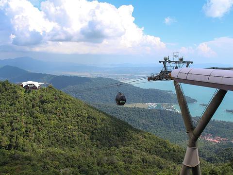 兰卡威缆车旅游景点图片