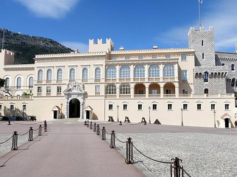 摩纳哥亲王宫旅游景点图片