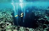水下钟乳石洞