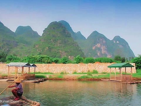千姿绿水休闲漂流景区旅游景点图片