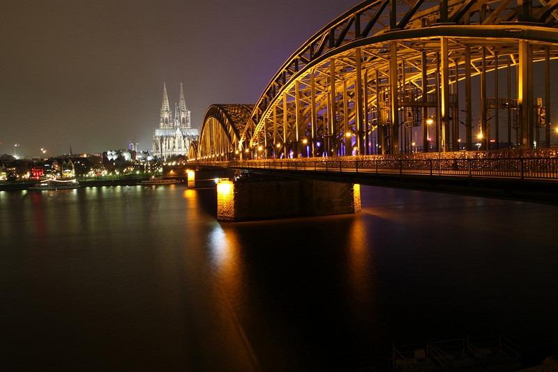 霍亨索伦桥Hohenzollern brücke