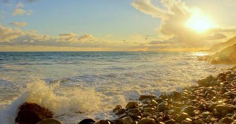 碧海蓝天·盛夏海滩