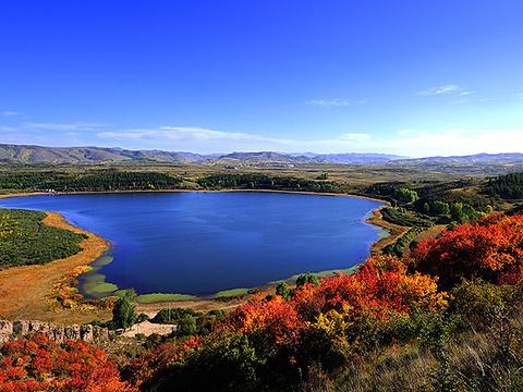 天池湖群旅游景点图片