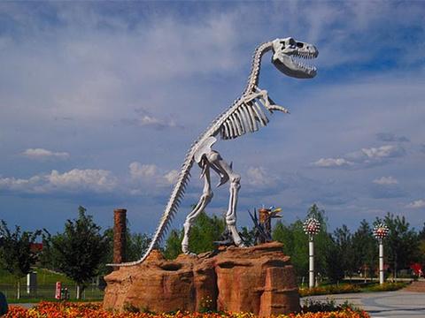 克拉玛依恐龙公园旅游景点图片
