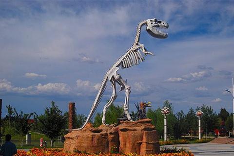克拉玛依恐龙公园的图片