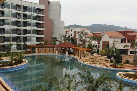 安宁温泉半岛凯莱度假酒店温泉