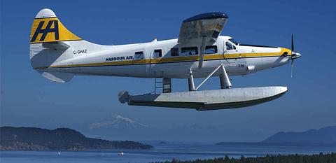 温哥华水上飞机