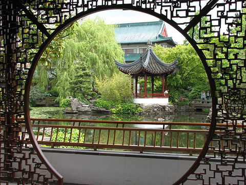 中山公园旅游景点图片