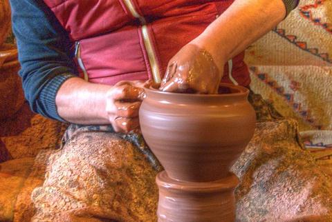 阿瓦诺斯陶瓷小镇玩陶瓷