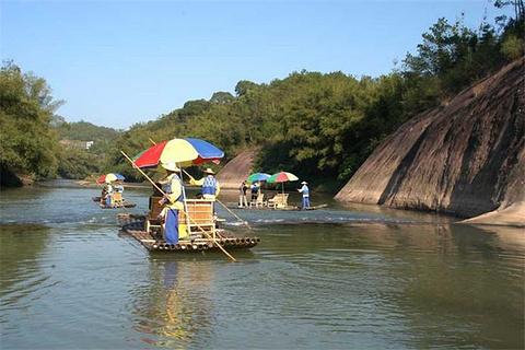 思罗河漂流的图片