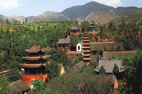 白云寺国家森林公园的图片