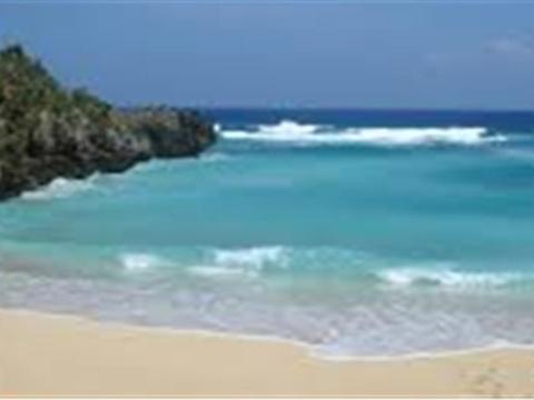 时钟海滩旅游景点图片