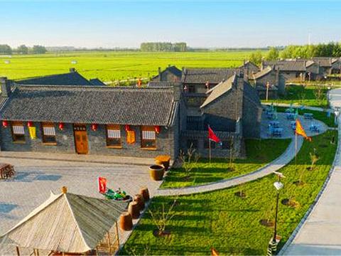 九道沟湿地温泉旅游度假村旅游景点图片