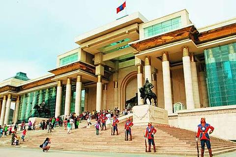 蒙古国国家宫