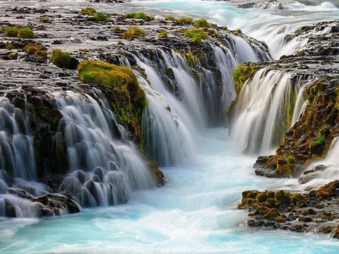 Bruarfoss Waterfall旅游景点图片