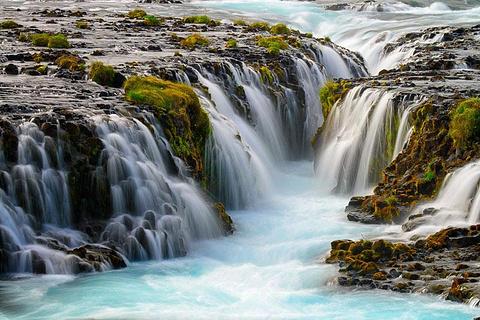 Bruarfoss Waterfall的图片