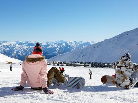 卓越山滑雪场旅游景点图片