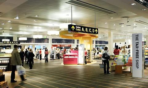 机场免税店