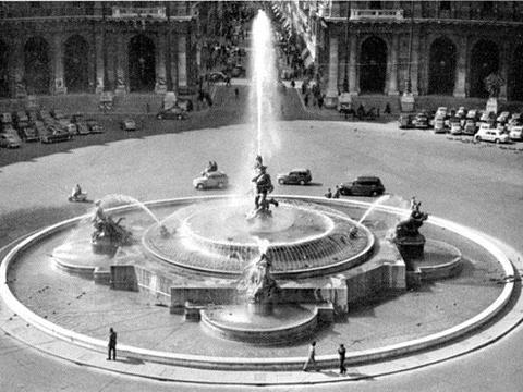 仙女喷泉旅游景点图片